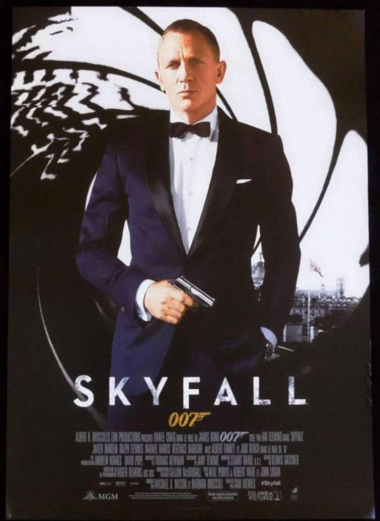 Skyfall (French) - Printed Originals