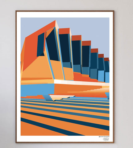 Sliced Art Print