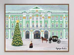 St Petersburg Winter Palace Limited Art Print - Printed Originals