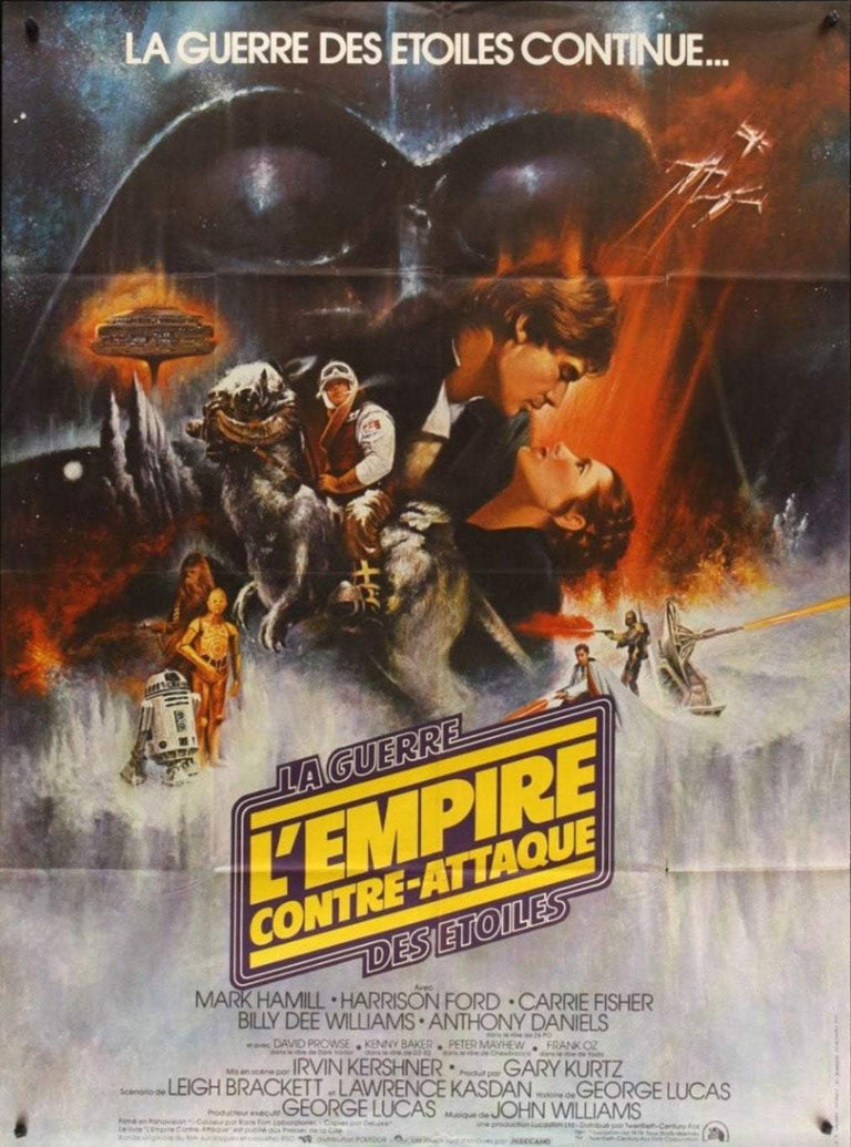 Star Wars The Empire Strikes Back (French) - Printed Originals