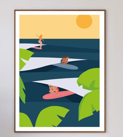 Sunday Chill Limited Art Print