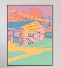 Load image into Gallery viewer, Sunset House Limited Art Print - Printed Originals
