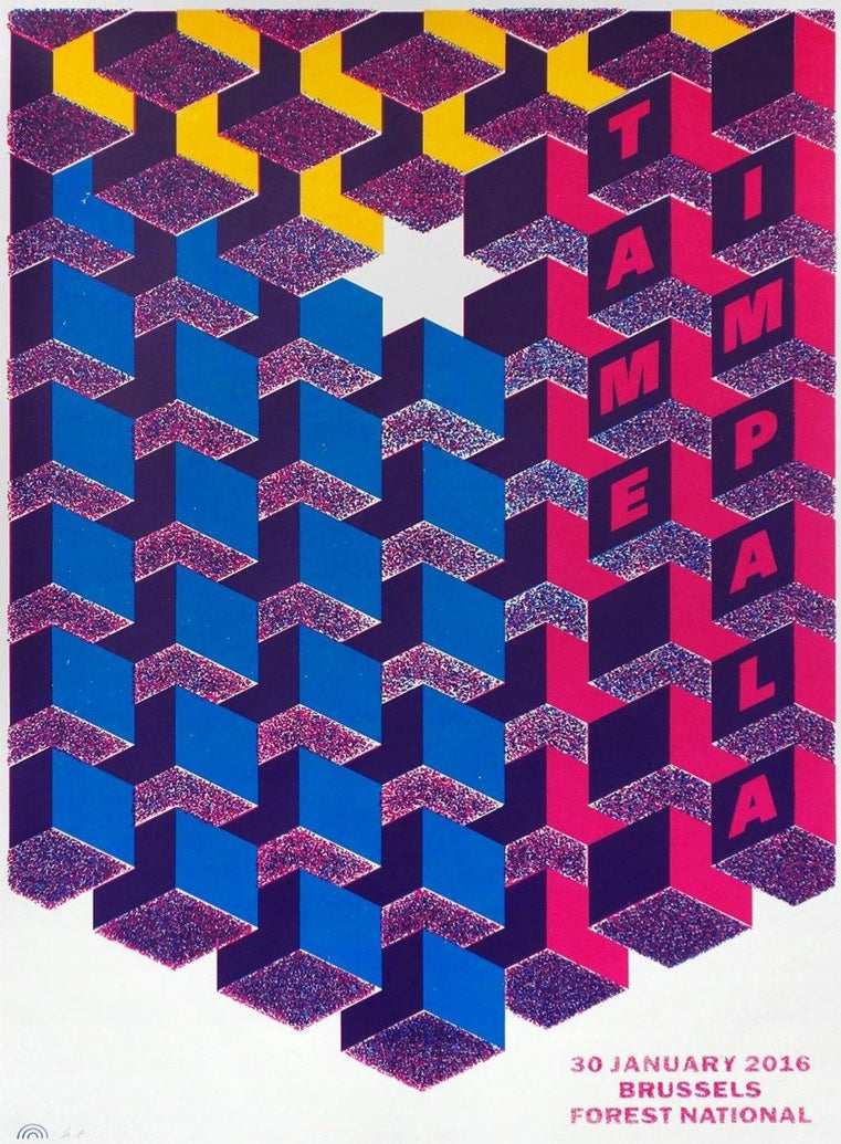 Tame Impala - Brussels - Printed Originals