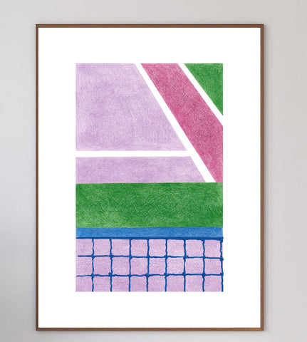 Tennis I Limited Art Print