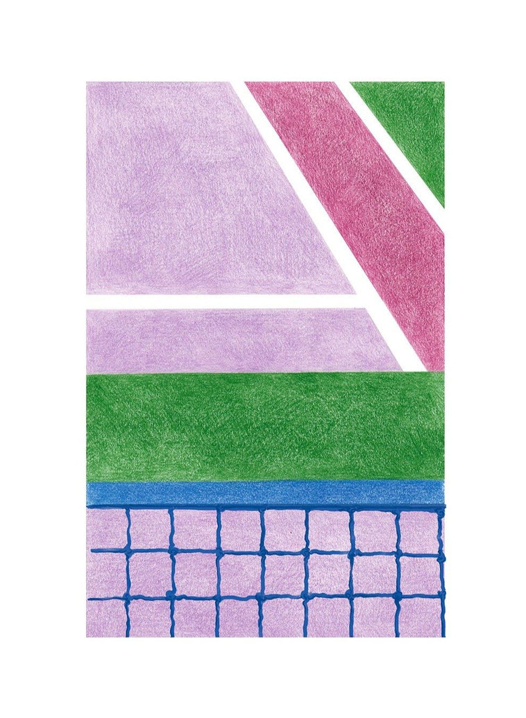 Tennis I Limited Art Print - Printed Originals