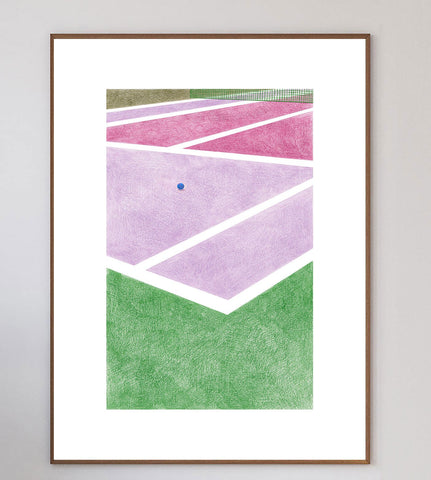 Tennis III Limited Art Print