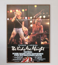 Load image into Gallery viewer, The Who - The Kids Are Alright (German) - Printed Originals