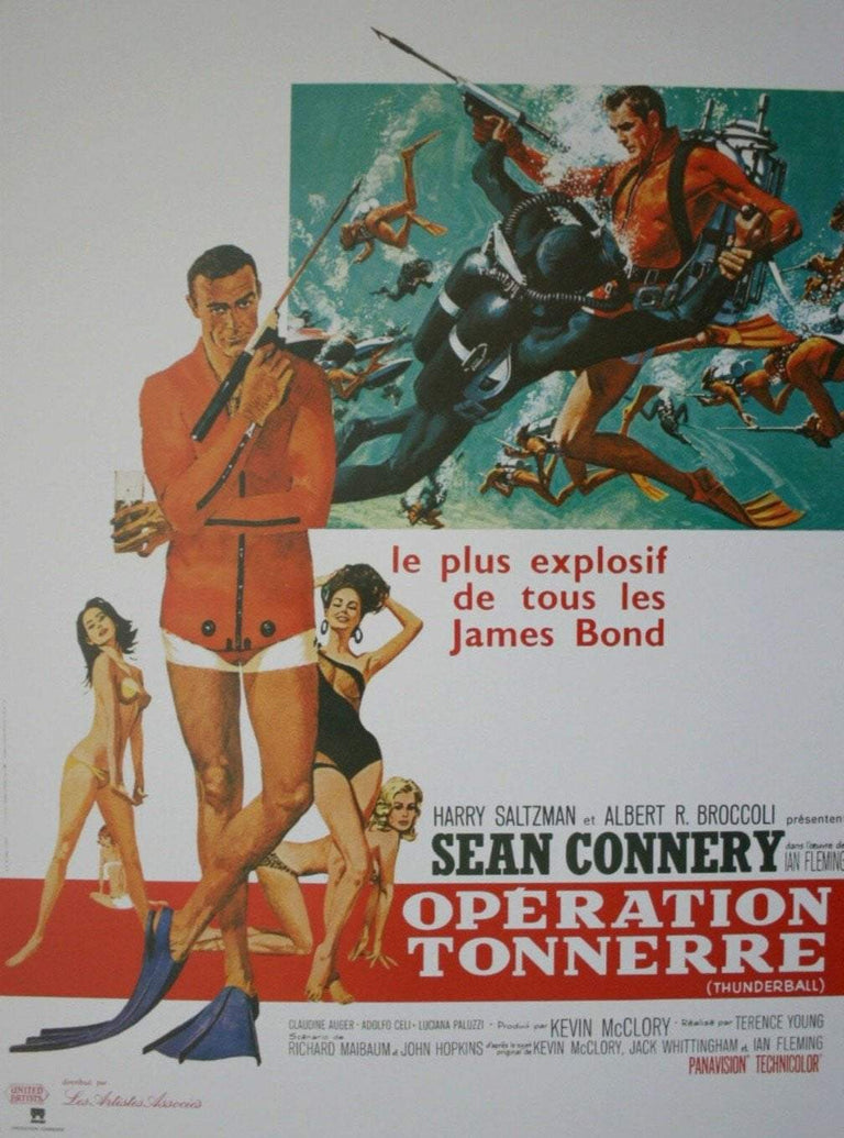 Thunderball (French) - Printed Originals