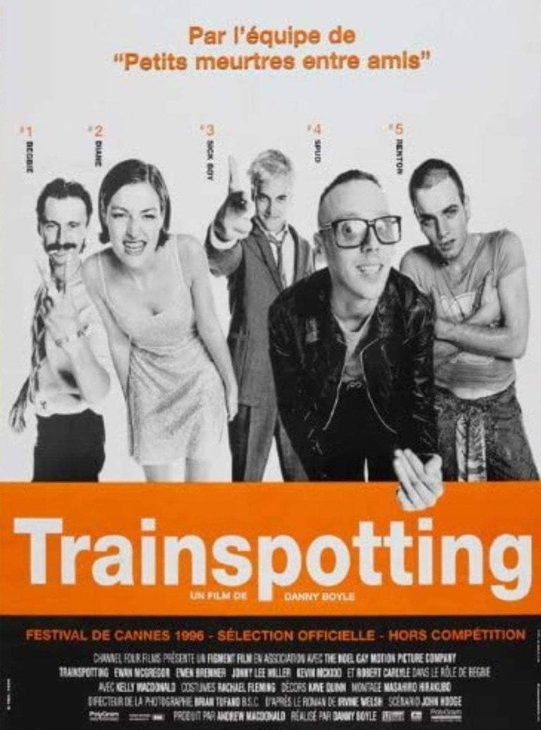 Trainspotting (French) - Printed Originals