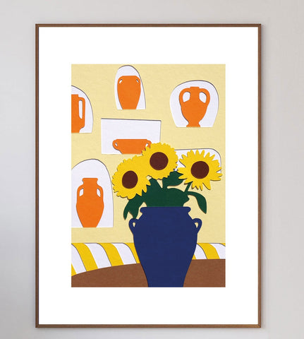 Une Table Au Sud Limited Art Print