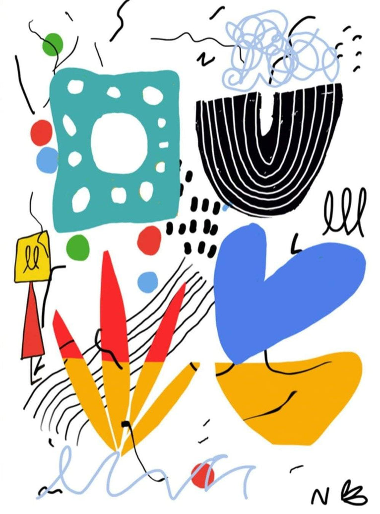 Until We Have Mirò Limited Art Print - Printed Originals