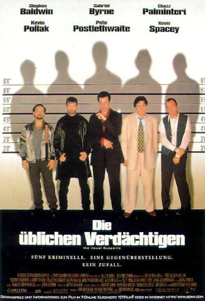 Usual Suspects (German) - Printed Originals