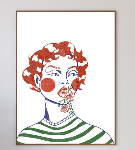 Margot Limited Art Print