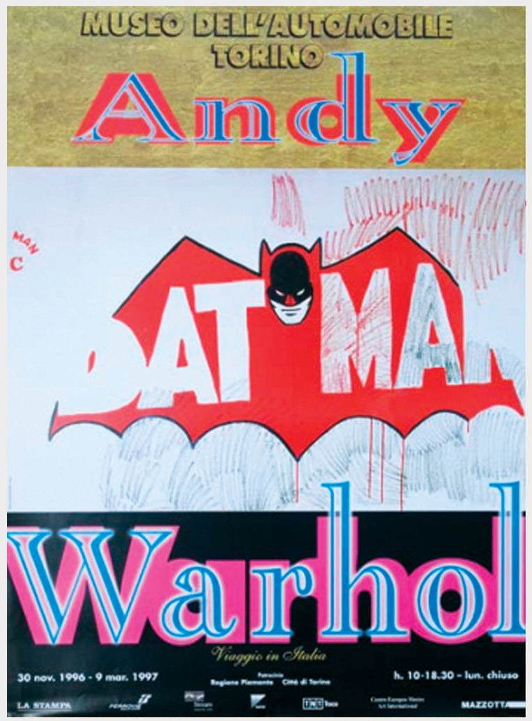 Andy Warhol - Batman