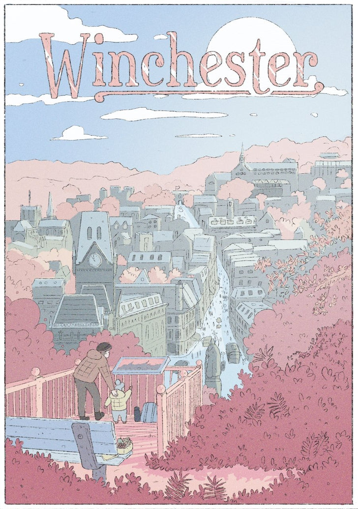 Winchester Limited Art Print - Printed Originals