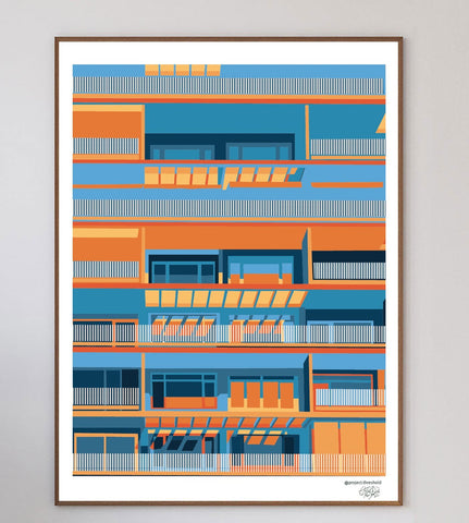 Windows Space Art Print