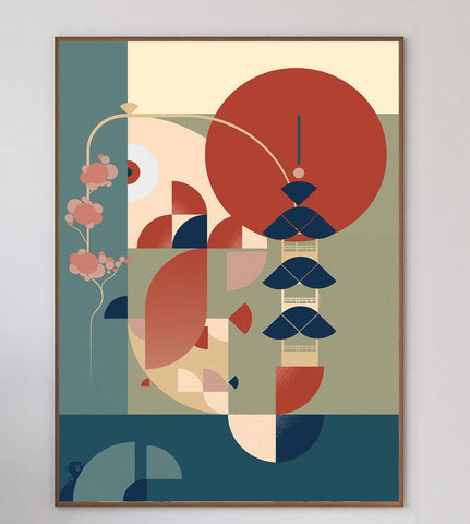 Japanese Vibes Limited Art Print