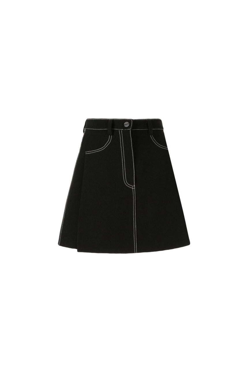 Dion Lee Stitch Tuck Mini Skirt