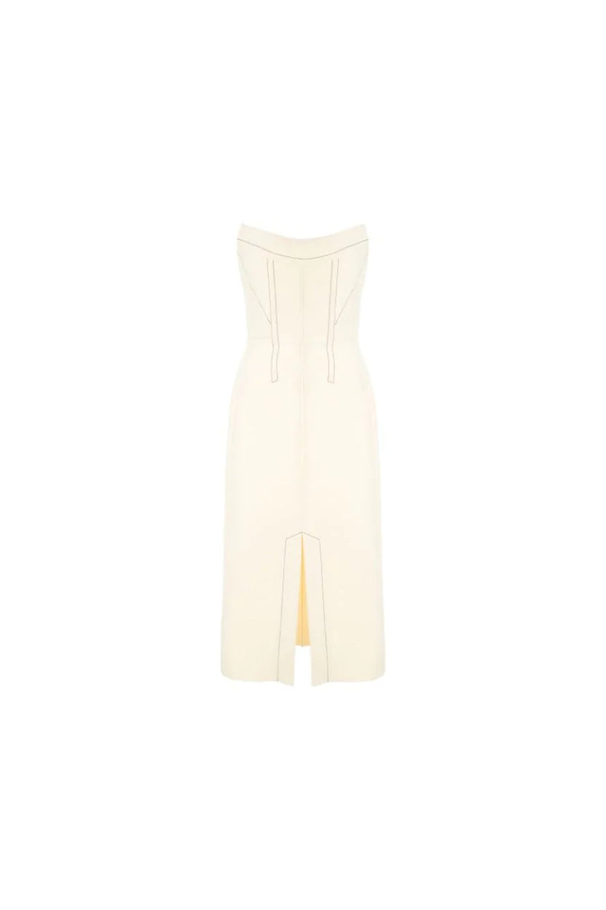 Dion Lee Convex Bustier Dress