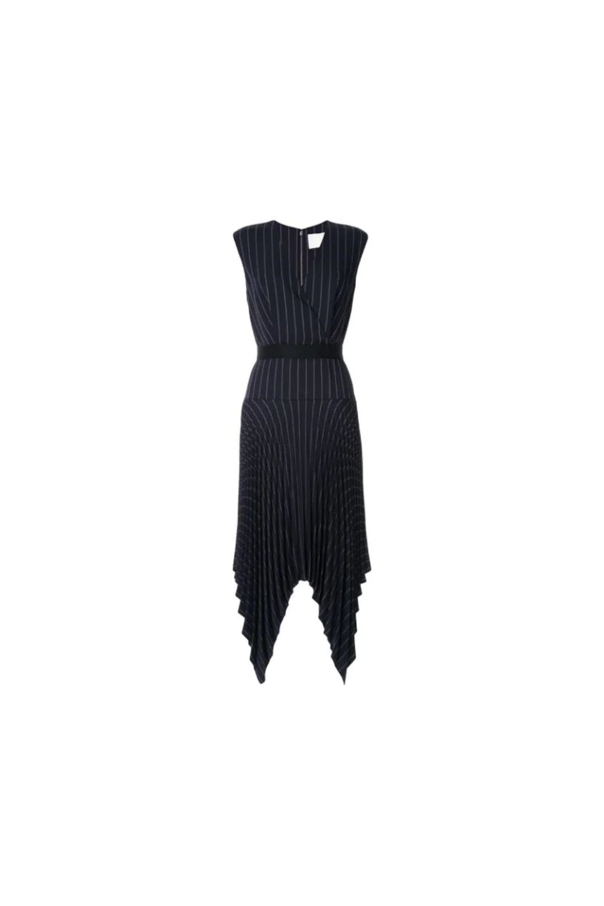 Dion Lee Tailored Pleat Dress