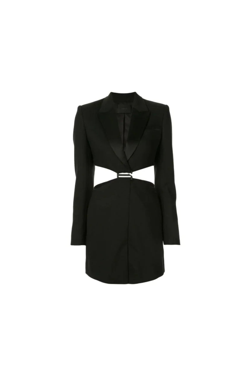 Dion Lee Tuxedo Blazer Dress