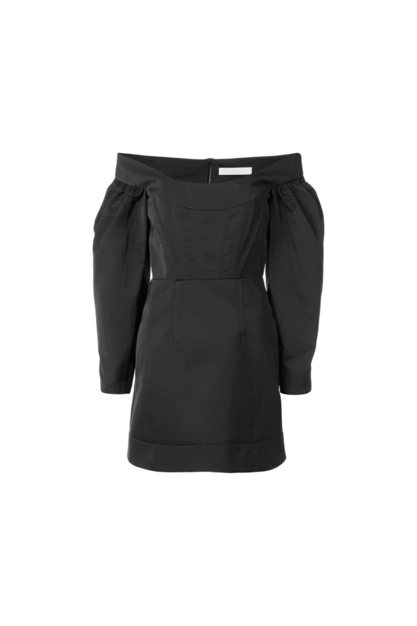 Dion Lee Cinched Ruffle Mini Dress