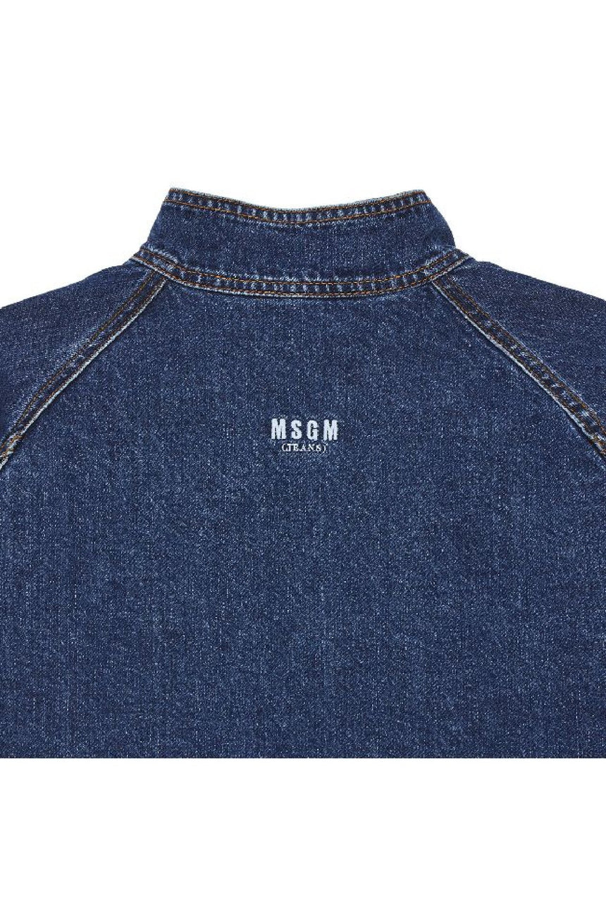 MSGM Denim Reversible Jacket