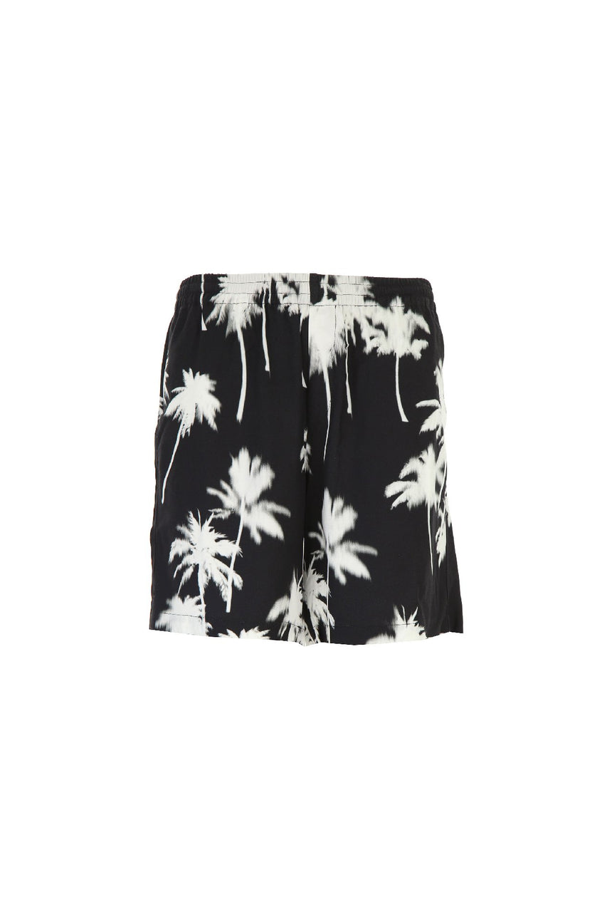 MSGM Tropical Print Shorts