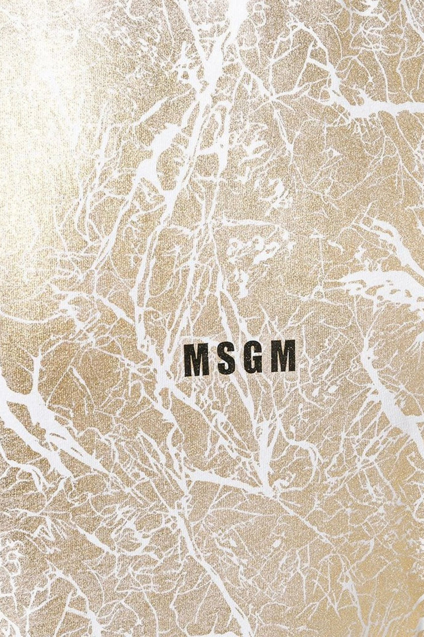 MSGM Metallic T-Shirt