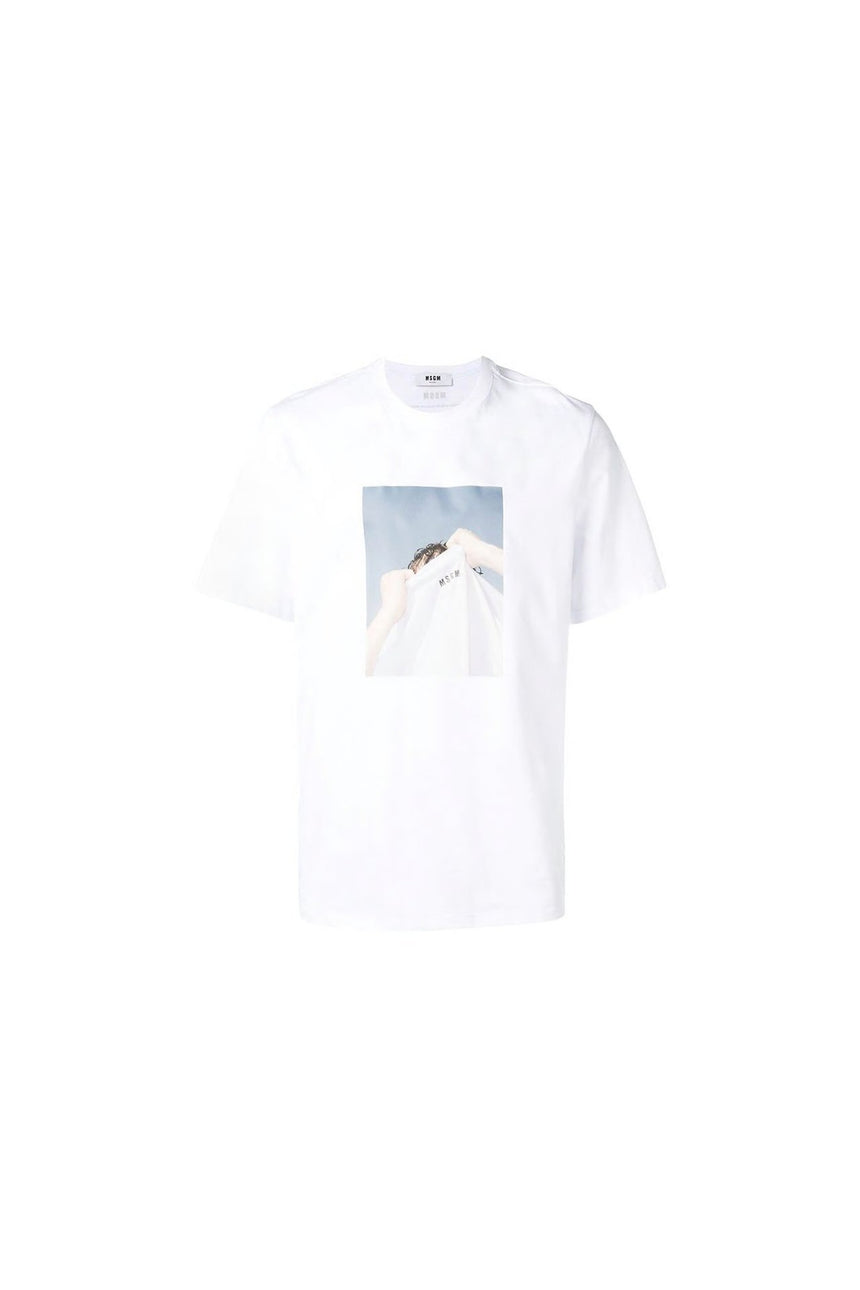 MSGM Photographic T-Shirt