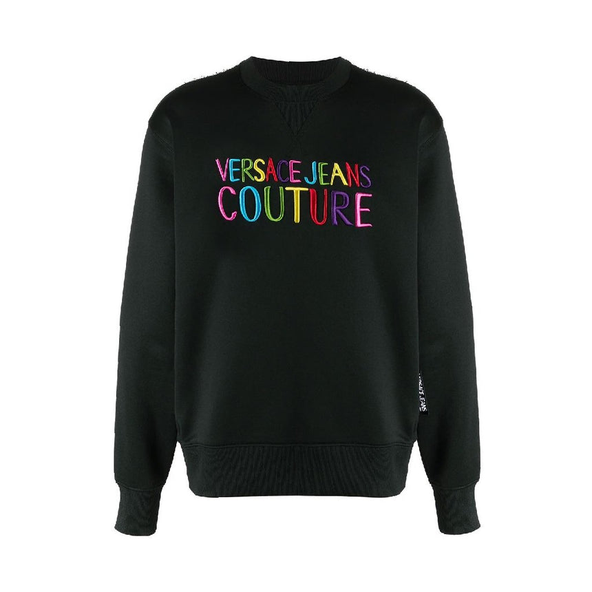 Versace Jeans Couture Embroidered Light Sweater