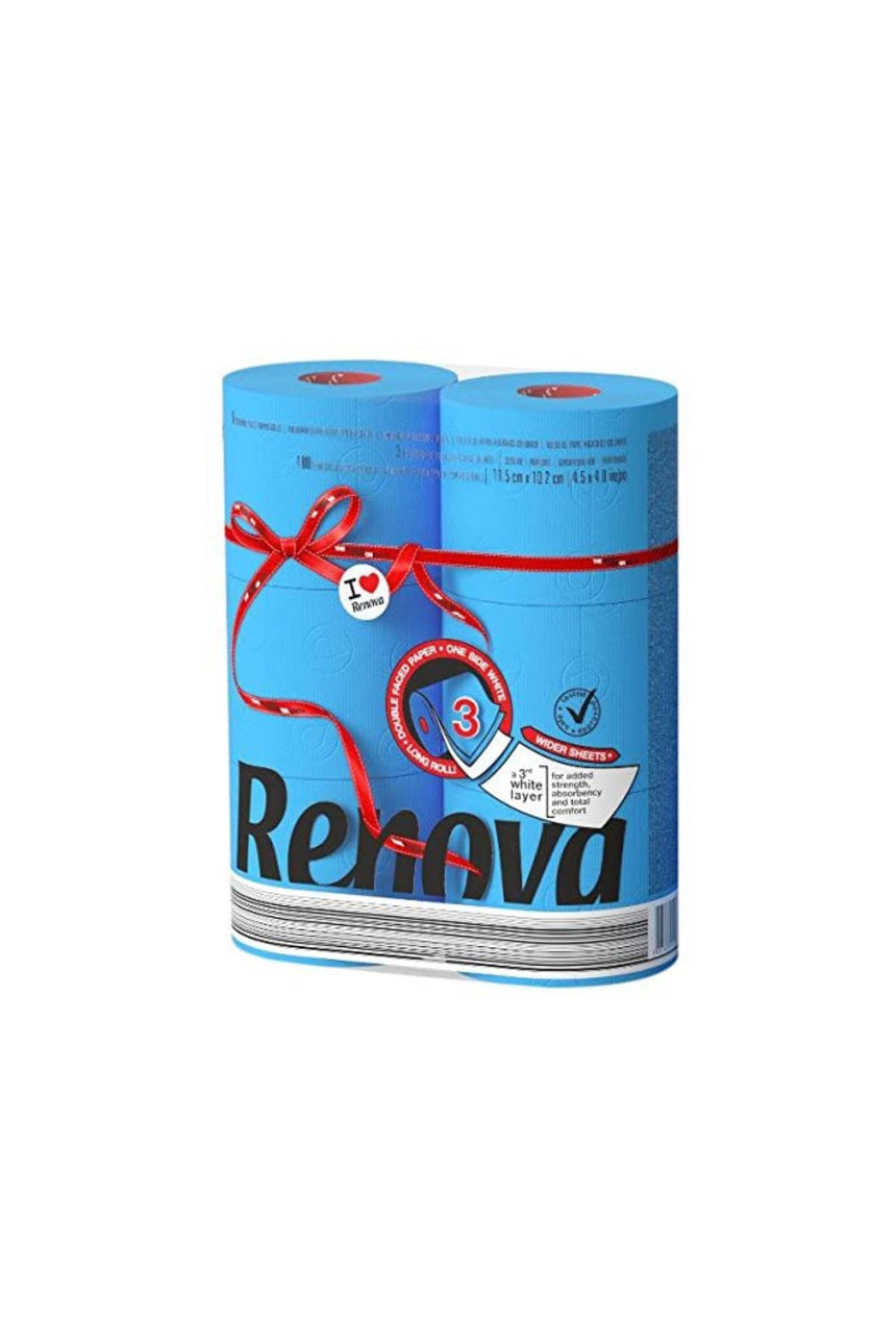 Renova Toilet Paper Red Label (6 Rolls)