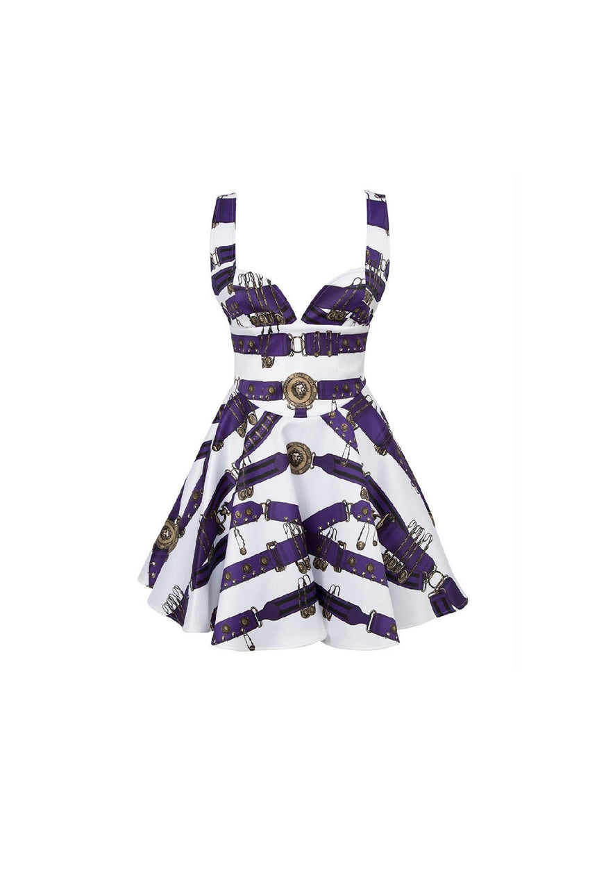 Versus Versace Heritage Sweetheart Dress