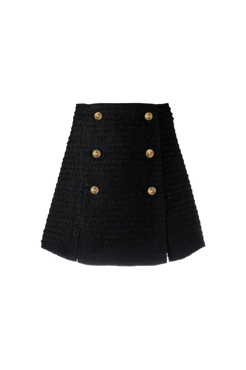 Versace Jeans Couture Tweed Skirt