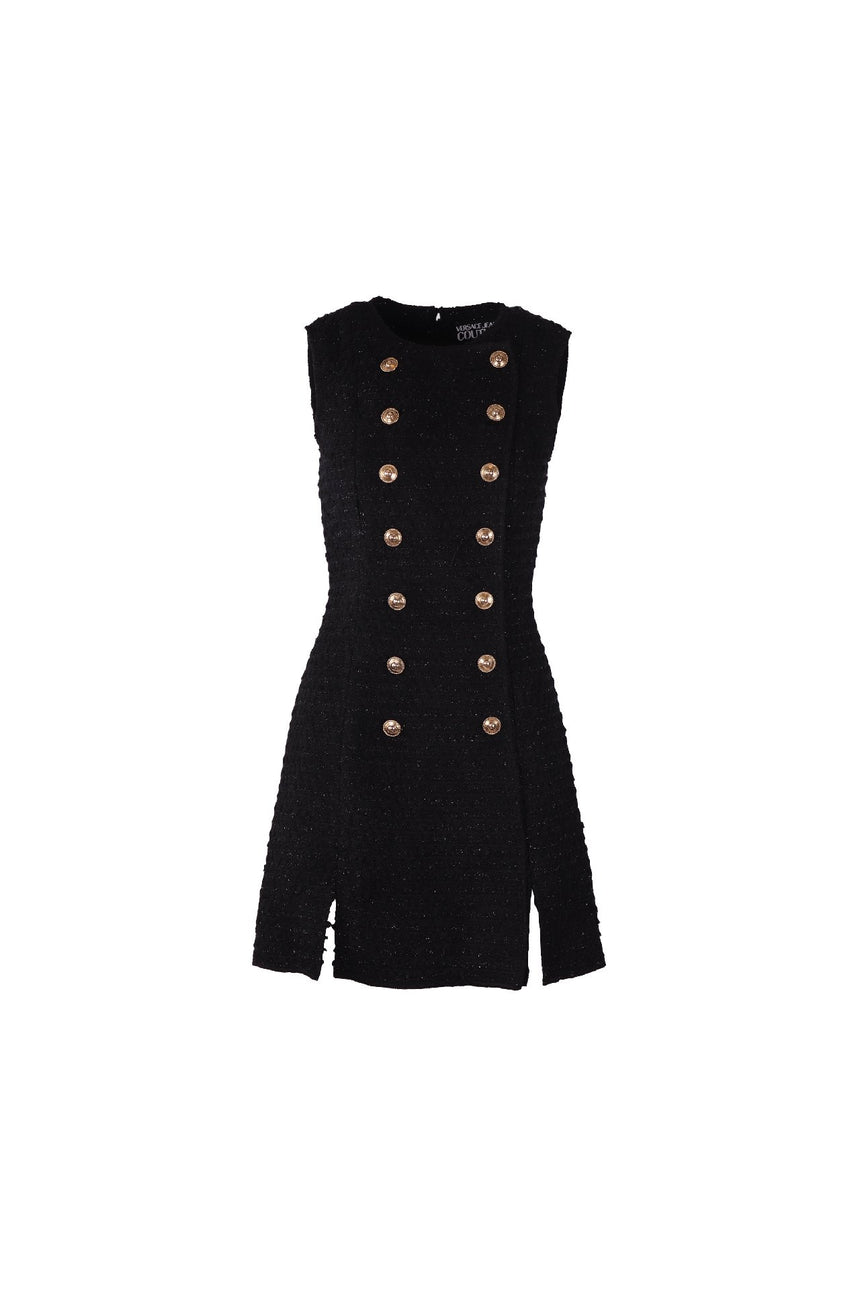 Versace Jeans Couture Tweed Dress