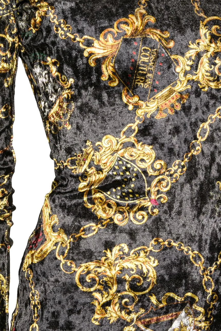Versace Jeans Couture Baroque Dress