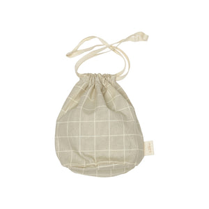 Multibag (liten) i oyster grey check