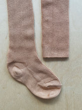 Last inn bildet i Galleri-visningsprogrammet, SILLY SILAS - FOOTED COTTON TIGHTS - CINNAMON