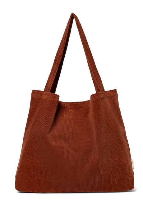 MOM BAG -  RIB RUSTY