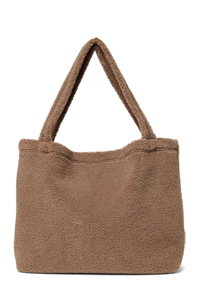 MOM BAG -  TEDDY CHUNKY BROWN