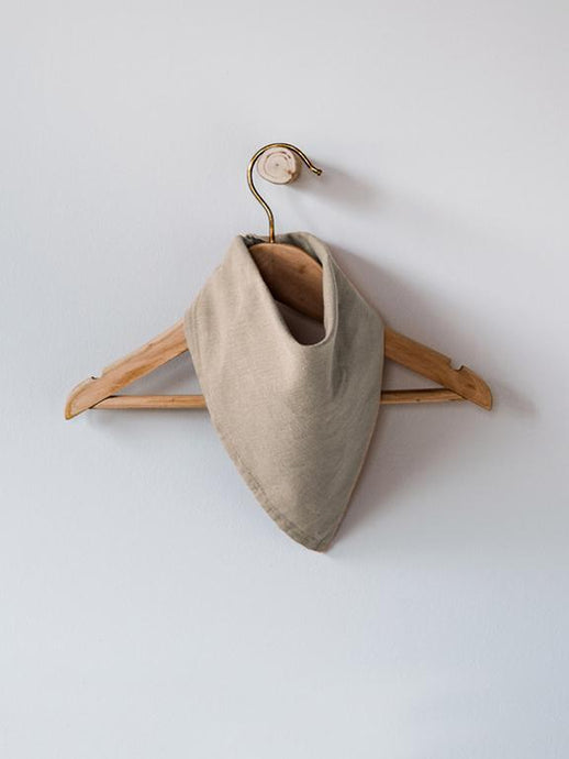 The Linen Bandana - Oatmeal