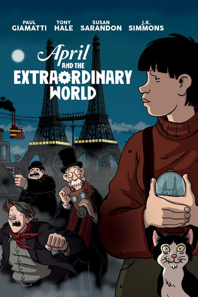 April And The Extraordinary World 2015 French Animation Movie