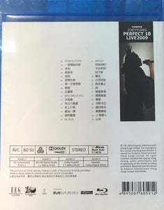 Joey Yung  -容祖兒 Perfect 10 黃金十年 Perfect 10 Live 2009 (BLU-RAY) Region Free
