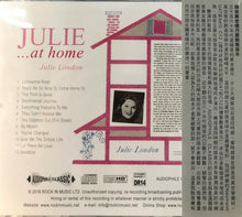 Load image into Gallery viewer, JULIE LONDON - JULIE....AT HOME 2016 (CD)