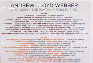 ANDREW LLOYD WEBBER - UNMASKED :THE PLATINUM COLLECTION (4CD)