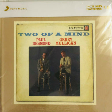 PAUL DESMOND, GERRY MULLIGAIN - TWO OF A KIND (K2HD) CD (MADE IN JAPAN)