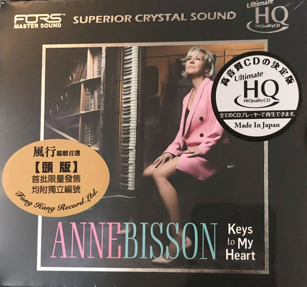ANNE BISSON - KEYS TO MY HEART (UHQCD) MADE IN JAPAN