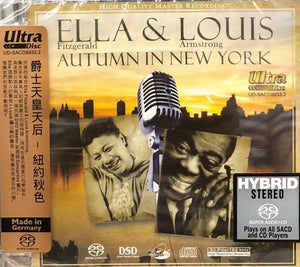 ELLA & LOUIS - AUTUMN IN NEW YORK (SACD) MADE IN GERMANY