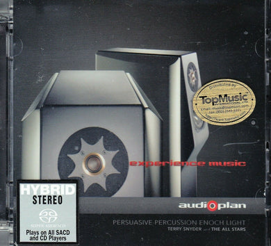 PERSUSAIVE PERCUSSION ENOCH LIGHT - TERRY SYNDER AND ALL STARS (SACD) MADE IN GERMANY