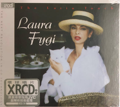 LAURA FYGI - THE LATIN TOUCH (XRCD) CD  MADE IN JAPAN